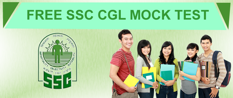 FREE SSC CGL MOCK TEST PDF