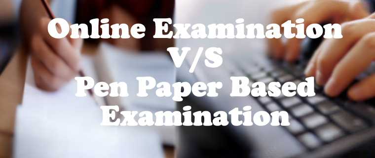 Comparision of ONLINE and PAPER BASES exams