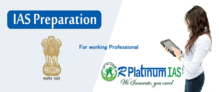 IAS PREPARATION FOR WORKING PROFESSIONAL